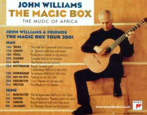 John Williams and Friends: Magic Box Tour