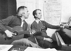 John Williams and Patrick Gowers, 1983