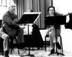 John Williams and Angelika Kirchschlager