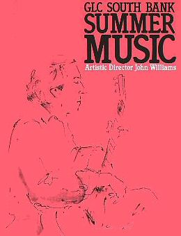South Bank Summer Music 1985 Programme Cover